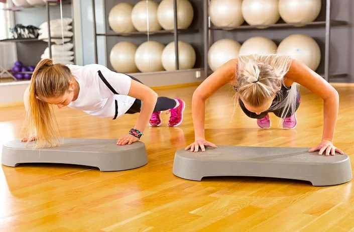 Workout, fitness and yoga for weight loss
