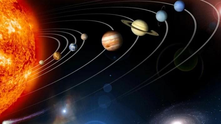 планеты, солнечная система, космос, влияние планет