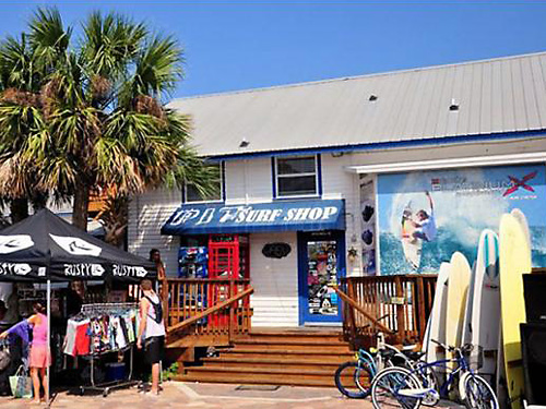 Shopping at St Augustine Beach