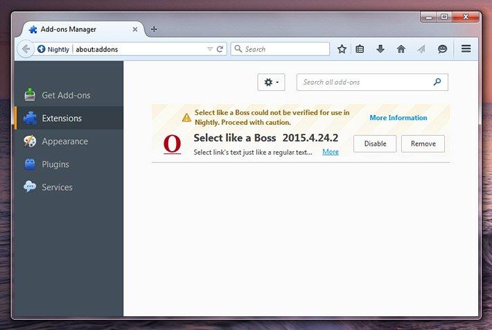 Firefox Project Chameleon (0)