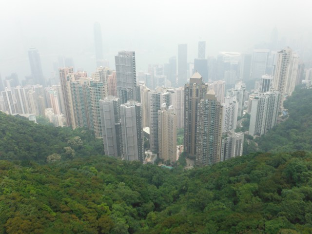 The view from the Peak Lookout