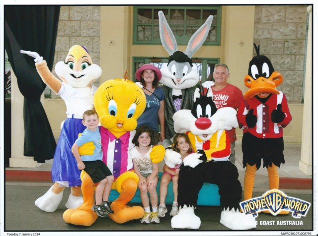 Looney Tunes Crew & all of us