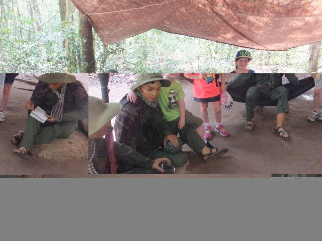Cu Chi Tunnels tours