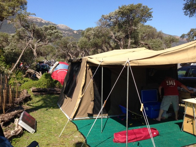 Camping at Wilson Promontory