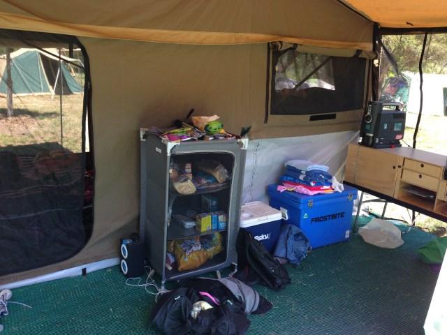 camping near Bright