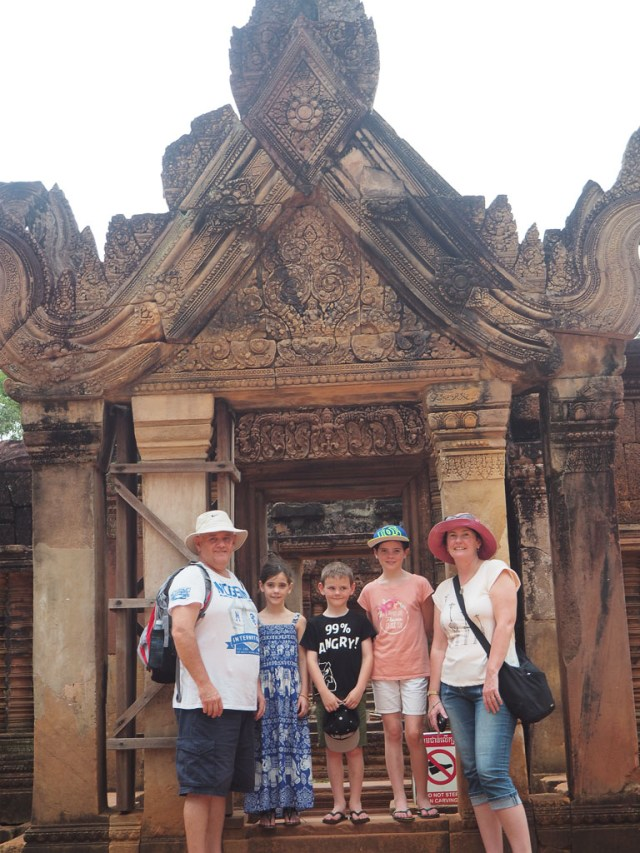 angkor wat with kids