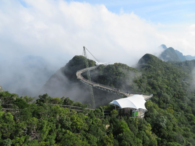 The cloud covering part of the Sky Bridge