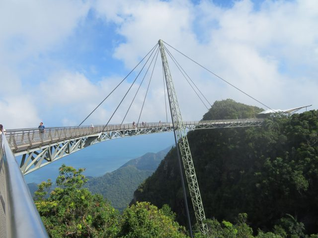 The Sky Bridge, standing 708m above sea level