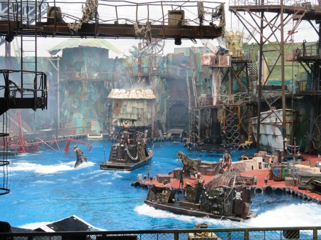 WaterWorld - Iniversal Studios Singapore
