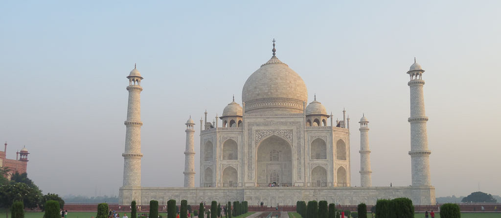 Visiting the Taj Mahal with Kids