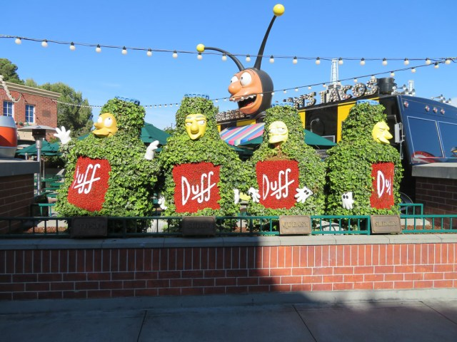 Springfield - Universal Studios Hollywood