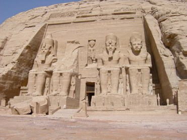 The Great Temple of Ramesses II at Abu Sumbel