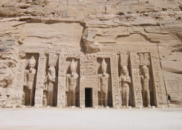 The Temple of Queen Nefertari at Abu Simbel
