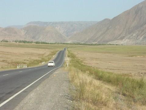 The long road through Kyrgyzstan