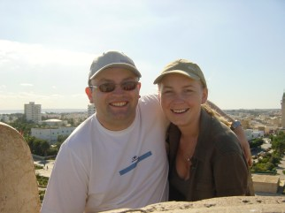 Adam & Julie in Monastir, Tunisia