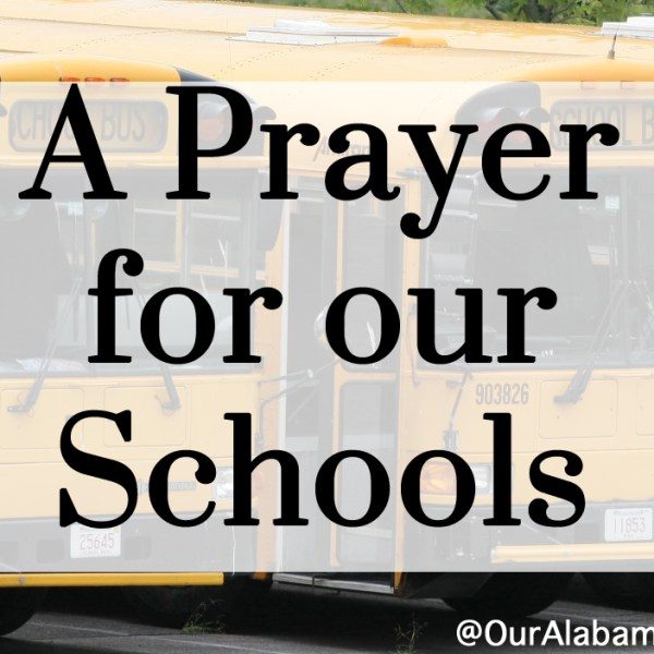 A Prayer For Our Schools