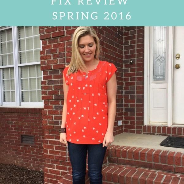 An Honest Stitch Fix Review for Spring