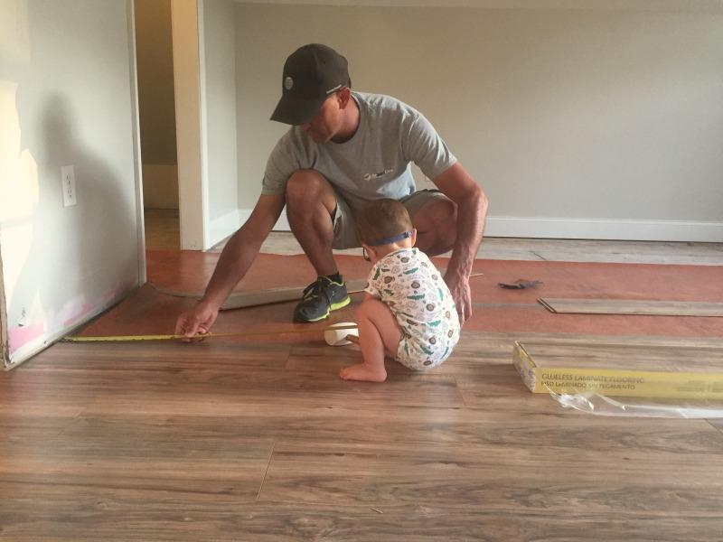 Diy Laminate Floor Installation Our Alabama Life