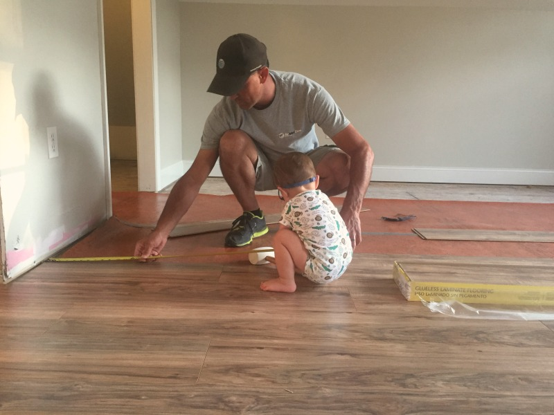 Laying down laminate flooring image titled install a floating laying down laminate flooring diy laminate floor installation our alabama life solutioingenieria Image collections
