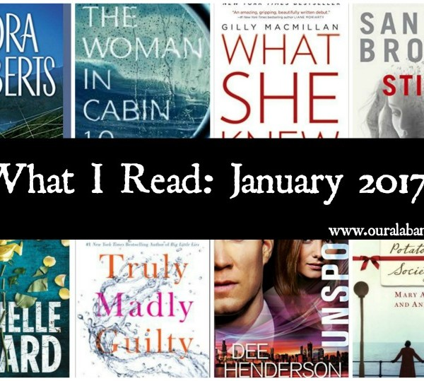 What I Read: January 2017