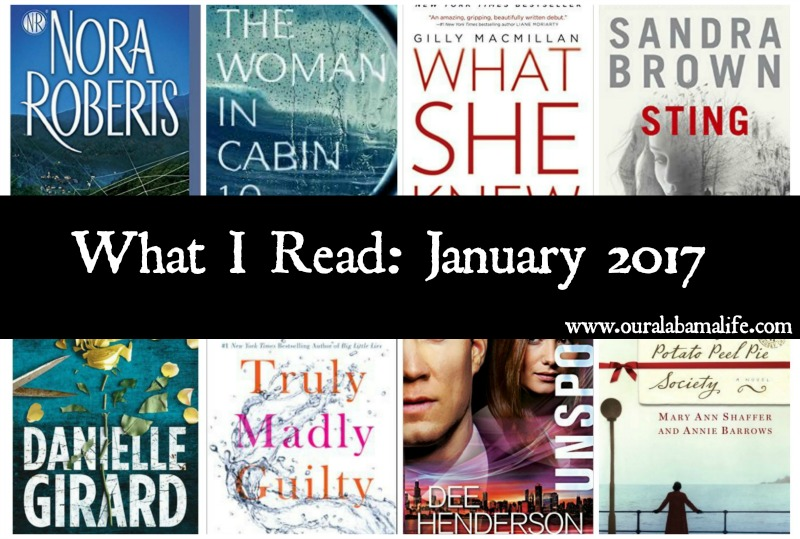 What I Read January 2017