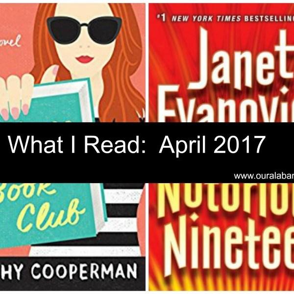 What I Read:  April 2017