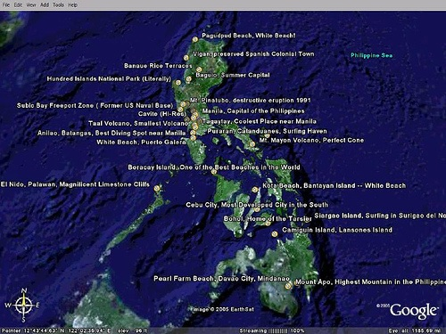 First Philippines Google Earth Tour! • Our Awesome Planet