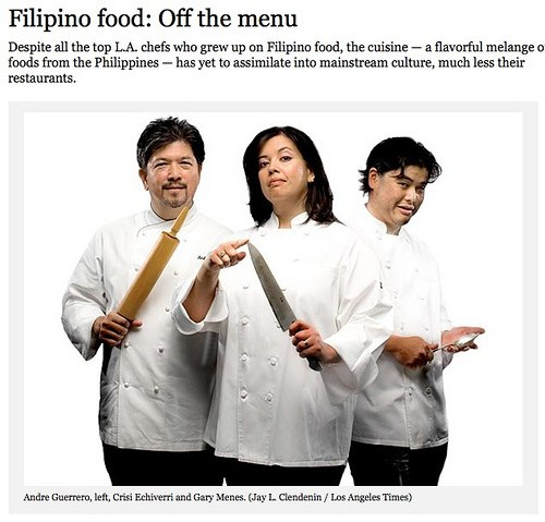 In defense of Filipino food (a rebuttal by Claude Tayag) • Our