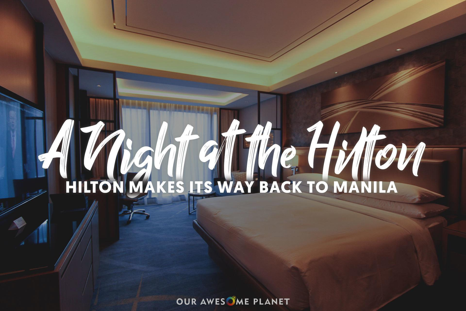 Fantastic Hilton Manila Pool Buffet And Staycation Experience Our Interior Design Ideas Tzicisoteloinfo