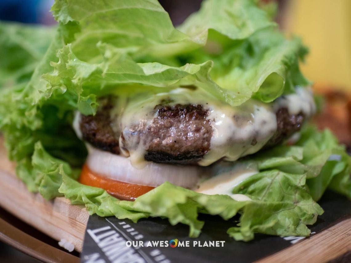 Big Angus Keto Burger