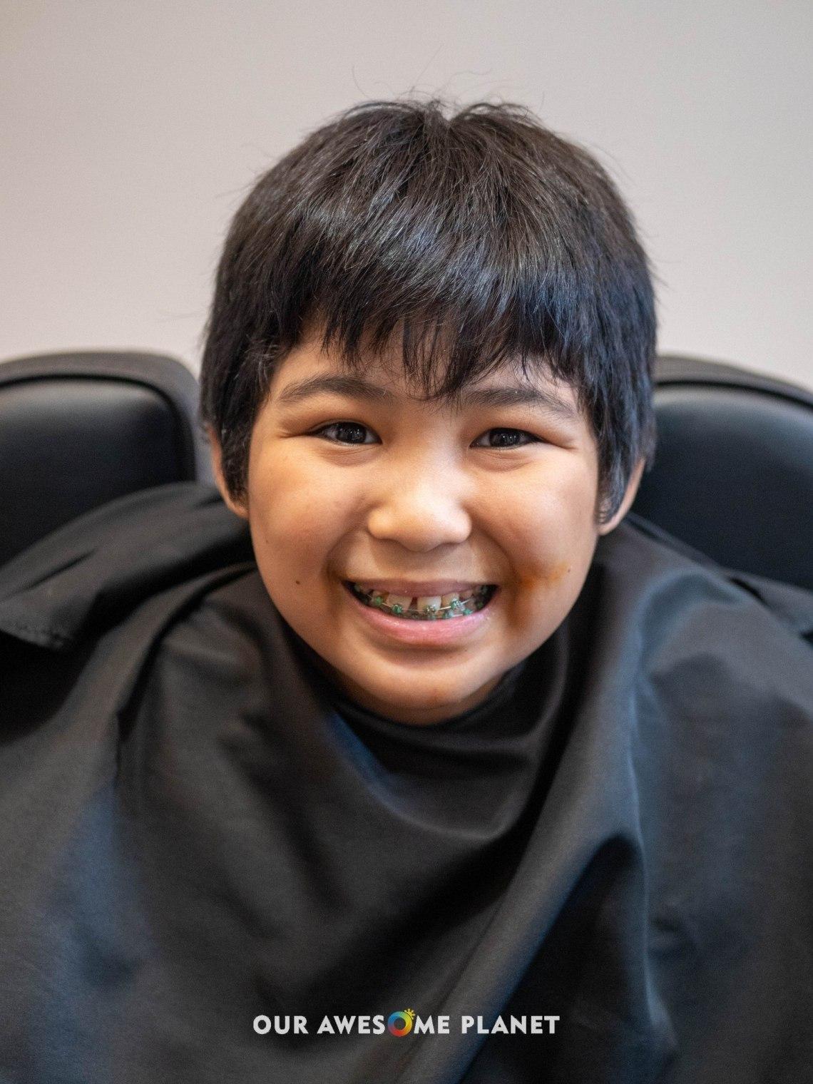 Joshua (Before Haircut)