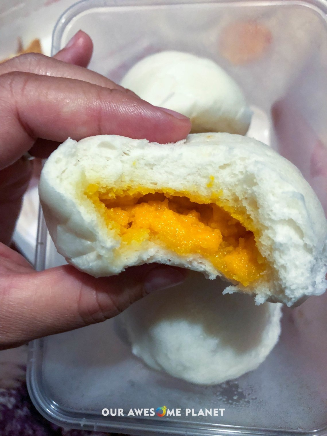 Salted Egg Bun