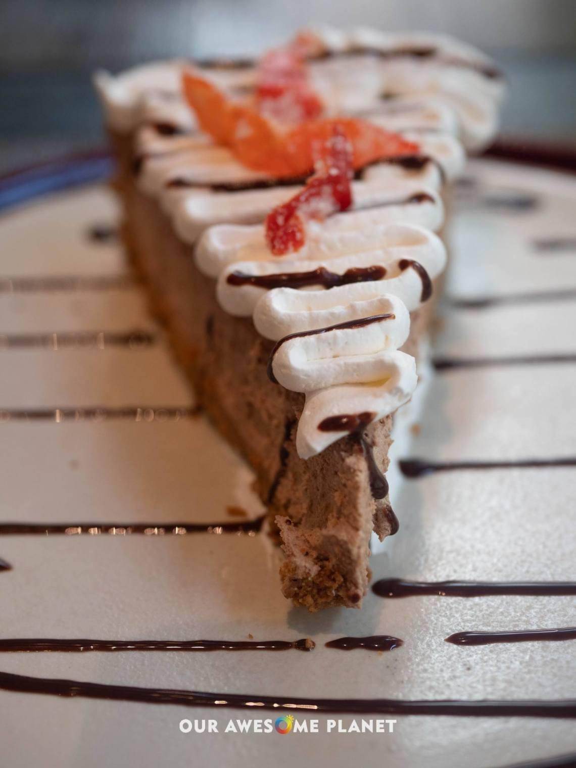 """""""Hot"""" Chocolate Cheesecake"""