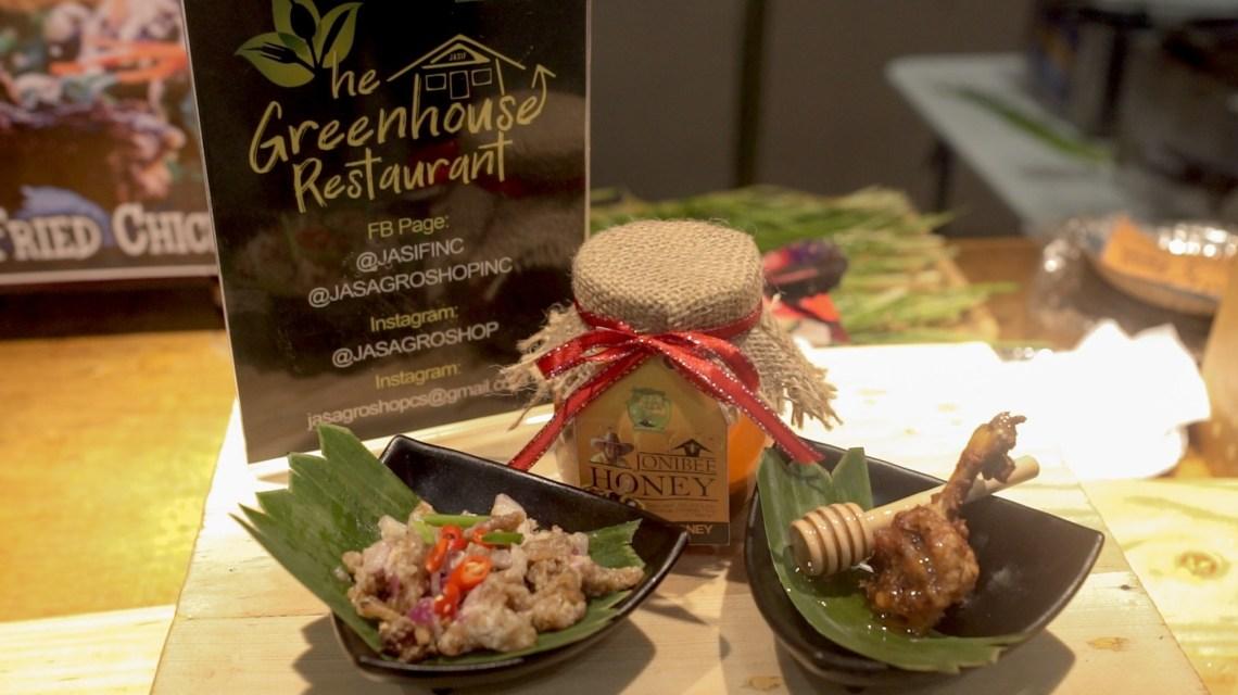 Mushroom Dinakdakan (₱79.00, with rice - ₱99). JASIF Honey Glazed Chicken with Garden Salad (₱159)