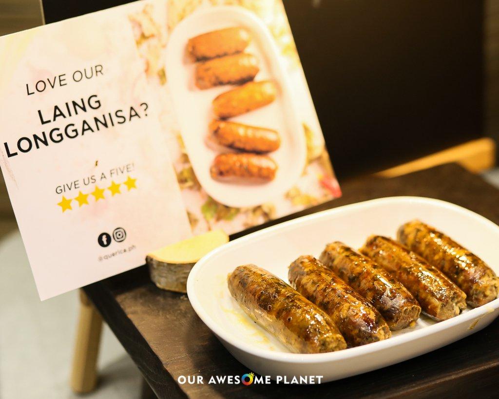 Laing Longganisa (Regular and Spicy) ₱300, Keto Vegetarian Laing ₱200