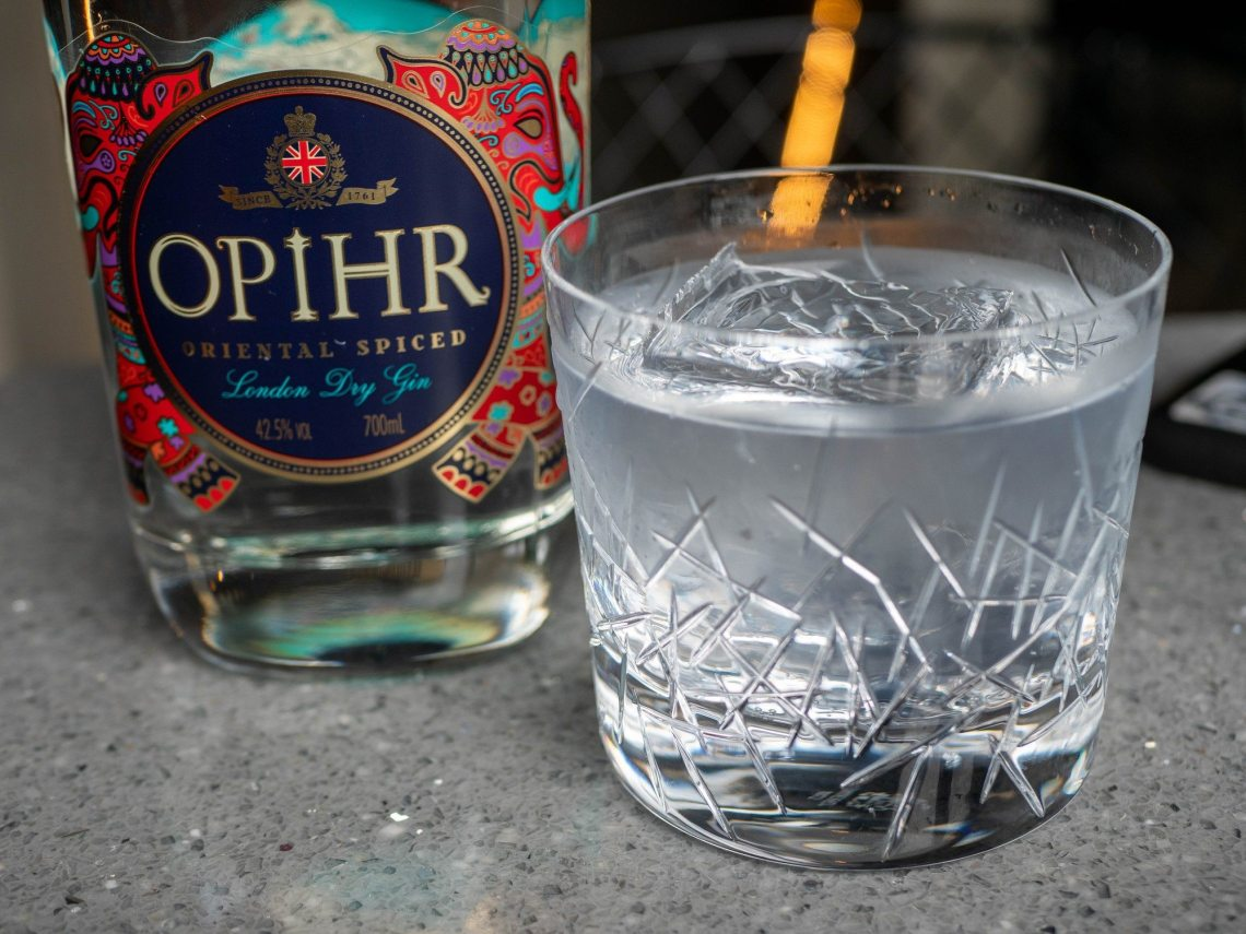 Opihr London Dry Gin + Fentimans Premium Indian Tonic Water + Cardamom (Optional)