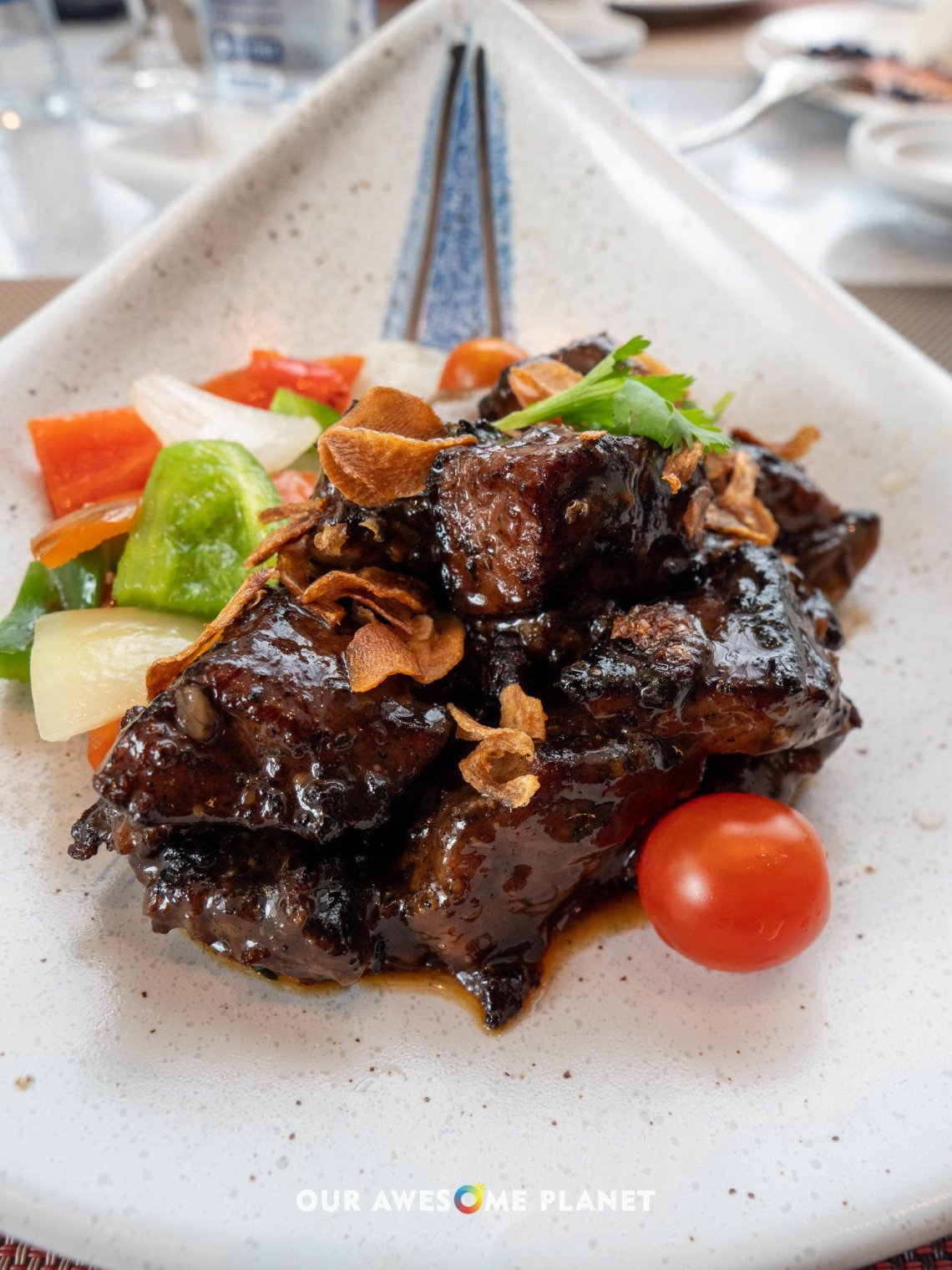 Wok-fried US Beef