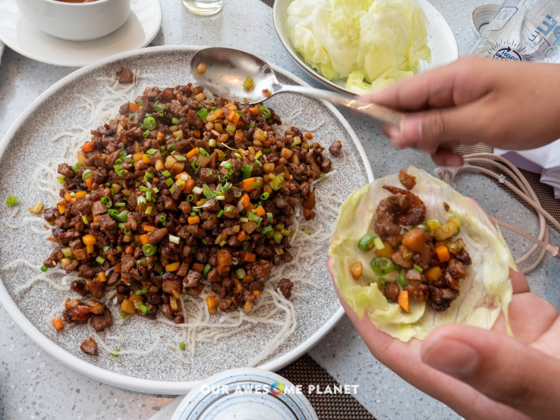 2nd Way - Wor-fried Minced Duck Meat