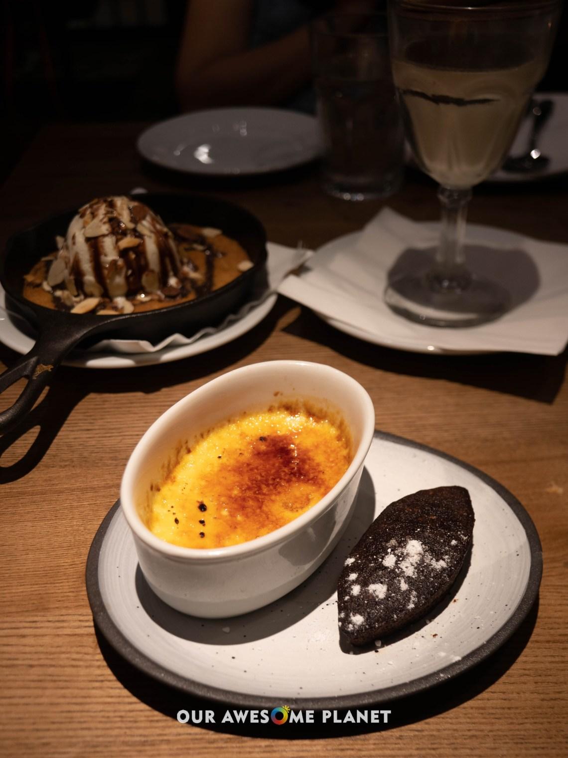 Creme Brulee - Chocolate Financier