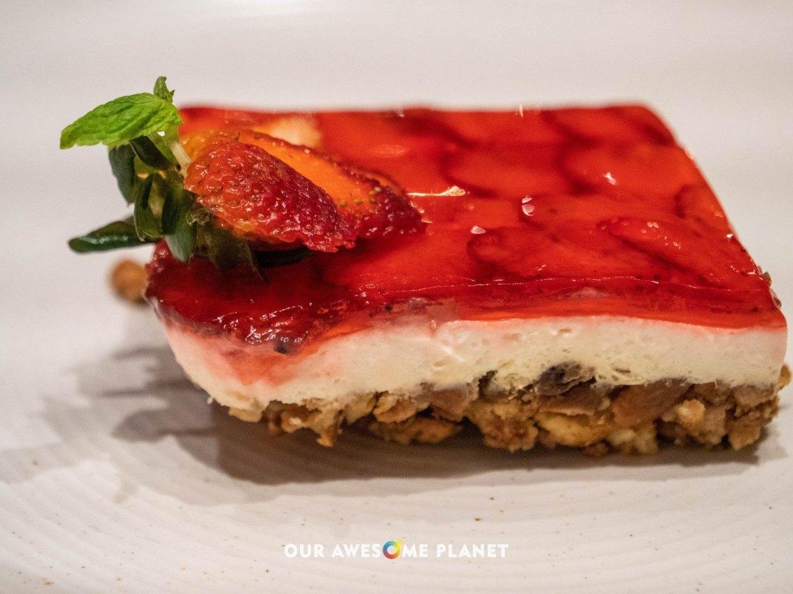 Strawberry Pretzel Mousse