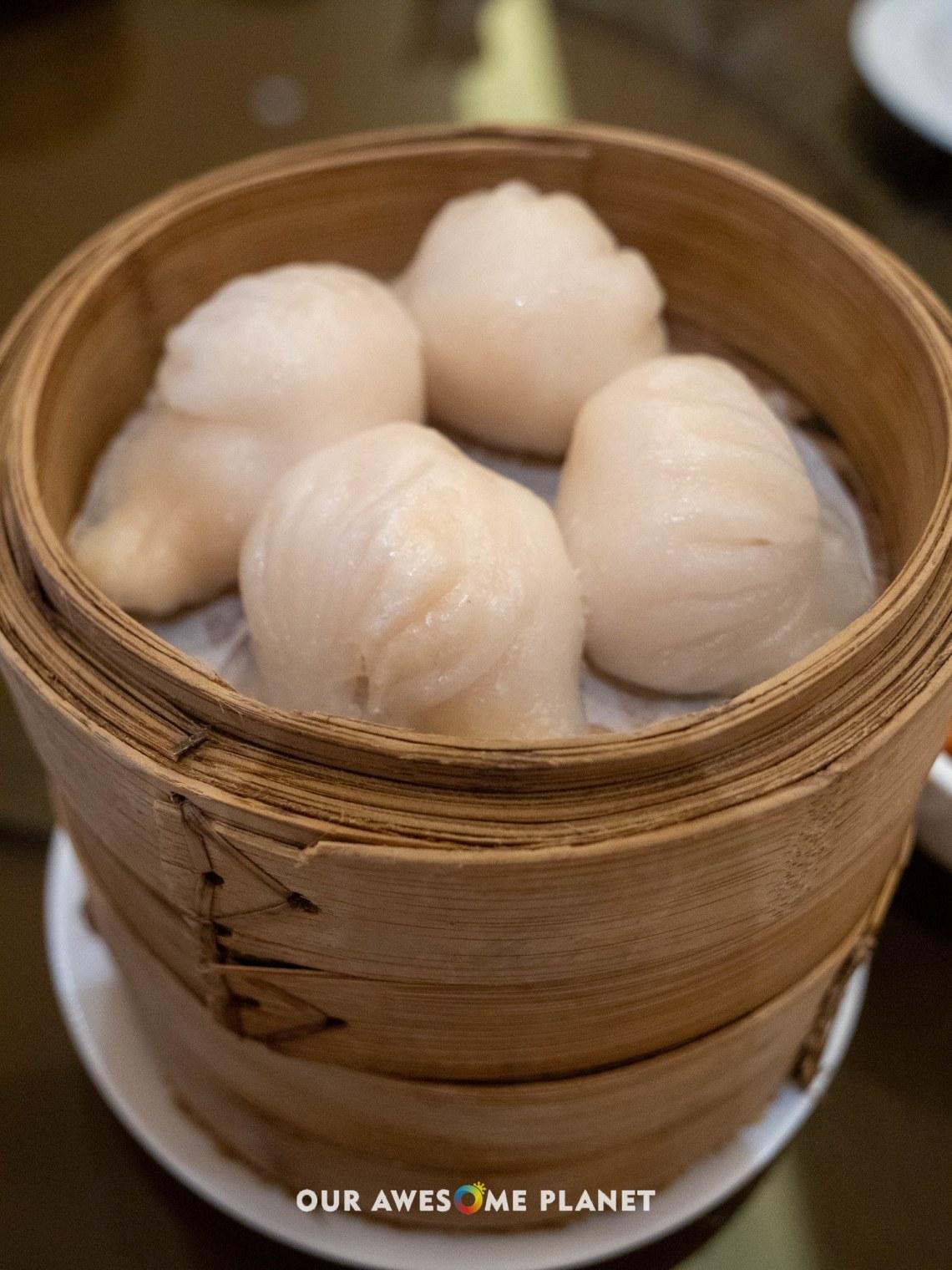 Steamed Crystal Prawns Dumpling Hakao