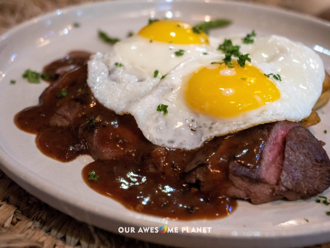 Bolzico Steak and Eggs