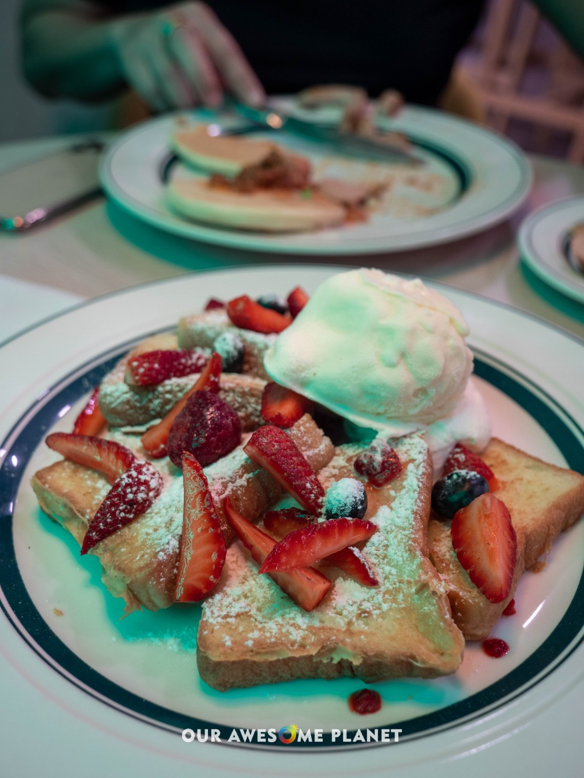 Mixed Berries French Toast