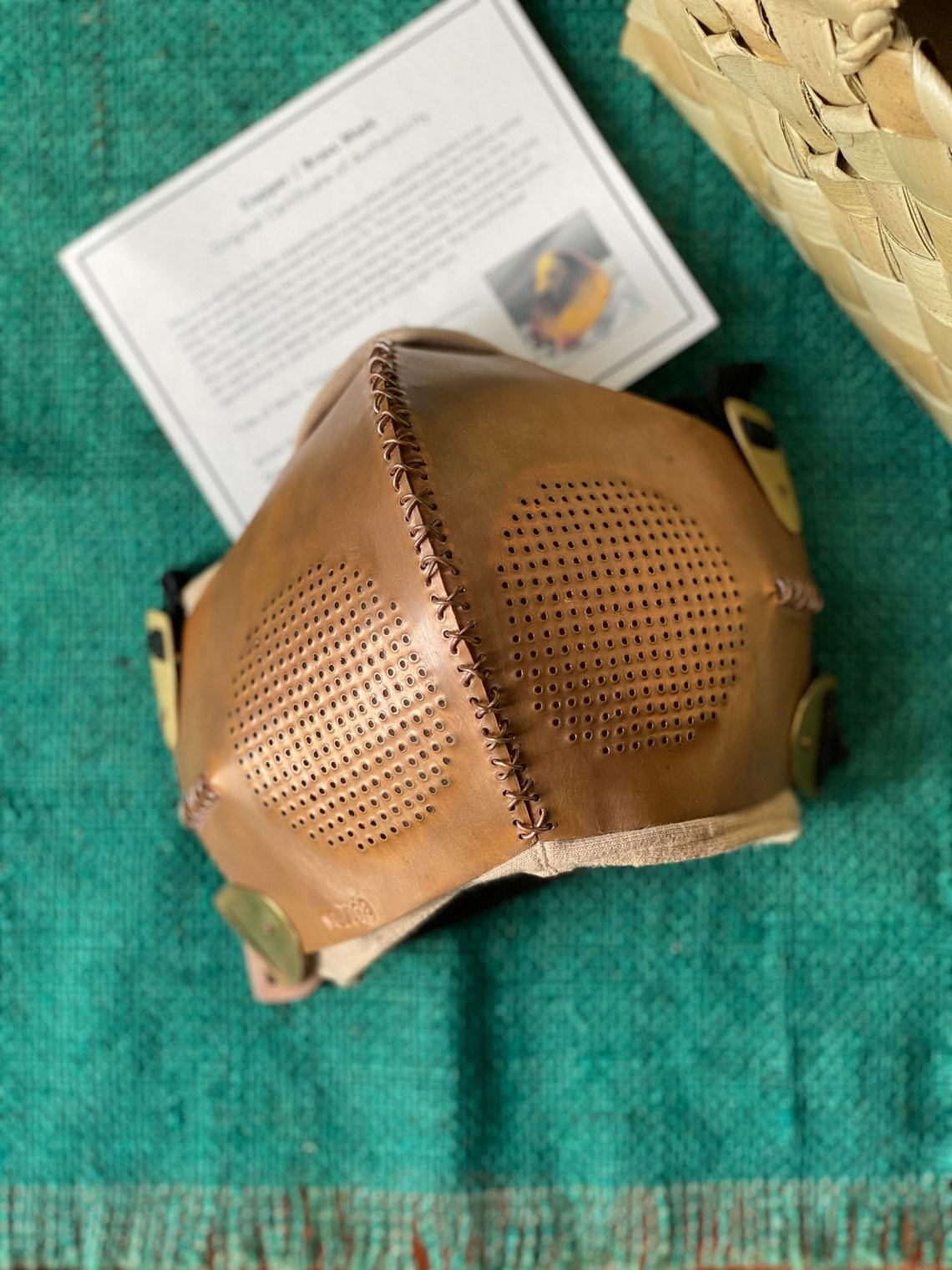 Copper / Brass Mask by Vitty Gutierrez (₱5,000)