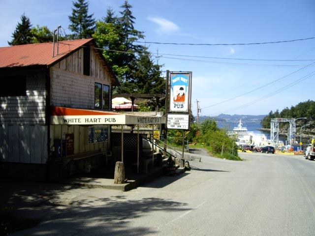 Gabriola Island Nanaimo BC Ferries Silva Bay Descanso