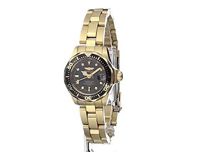 Invicta Women's 8943 Pro Diver Collection Gold-Tone Watch Review