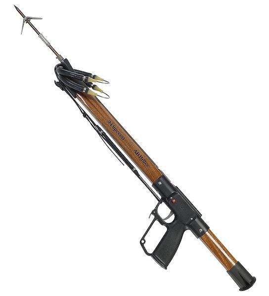 AB Biller Wood Mahogany Special Spear Gun