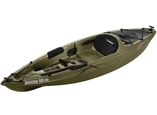 Sun Dolphin Journey 10-Foot Sit-on-top Fishing Kayak