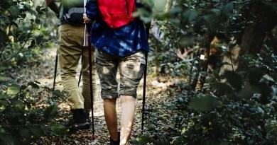 2 Adult Hiking