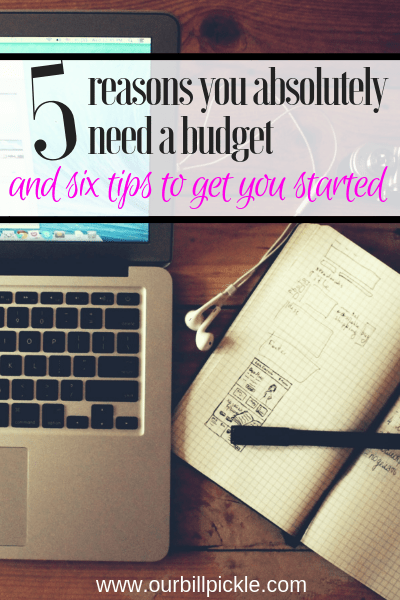 You need a budget. This is why.
